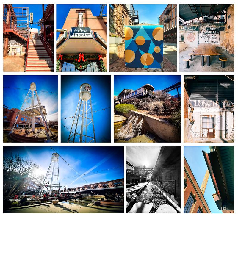 """American Tobacco Campus"", ""Durham NC Portrait Photography"""