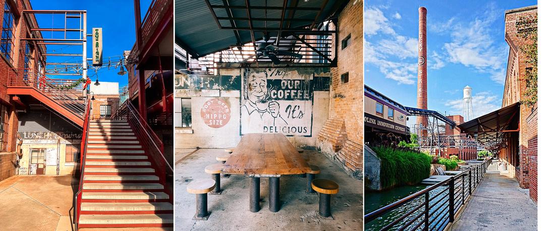 """American Tobacco Campus"", ""Downtown Durham, NC"", ""Durham NC Portrait Photography"""