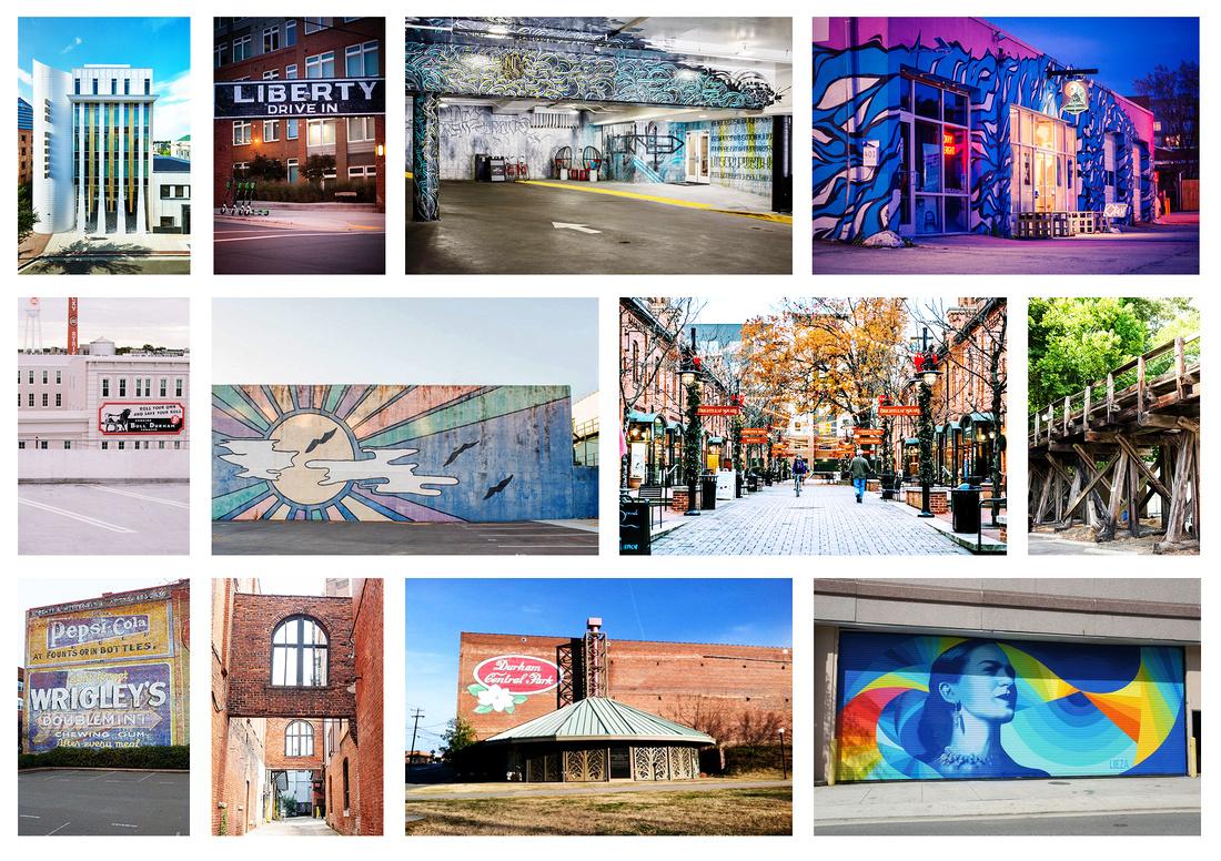 """""""Downtown Durham"""", """"Durham NC Portrait Photography"""" """"Durham Portrait Session"""""""