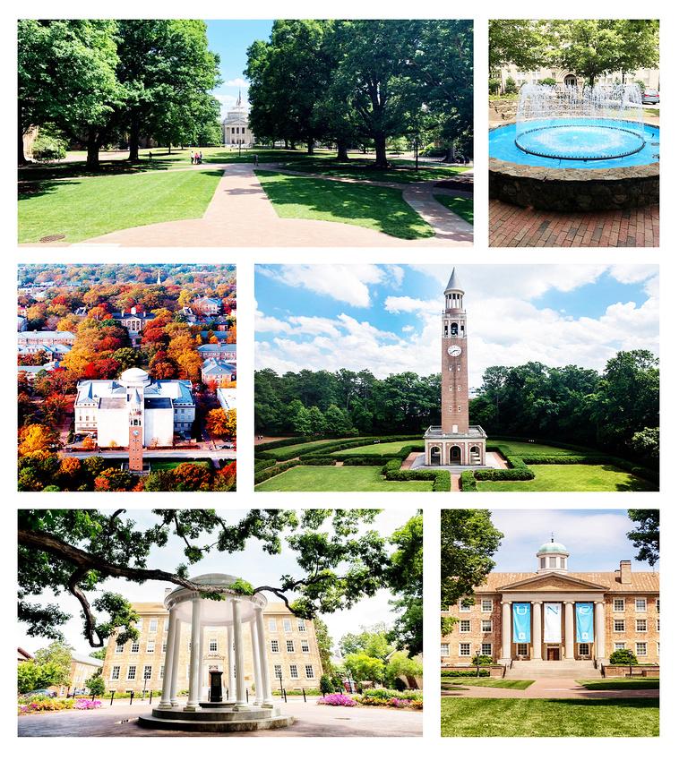 """""""UNC"""", """"UNC Chapel Hill portrait photography"""", """"UNC senior pictures"""", """"UNC Chapel Hill engagement photos"""""""